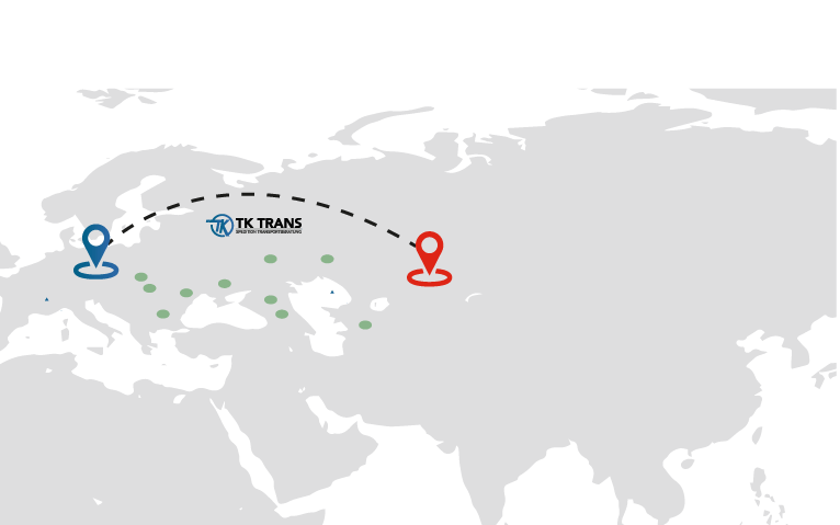 Map TkTrans